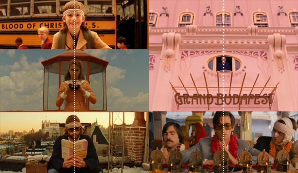 Wes Anderson simetría