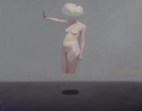 mujer desnudo mente