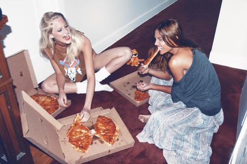 amantes de pizza