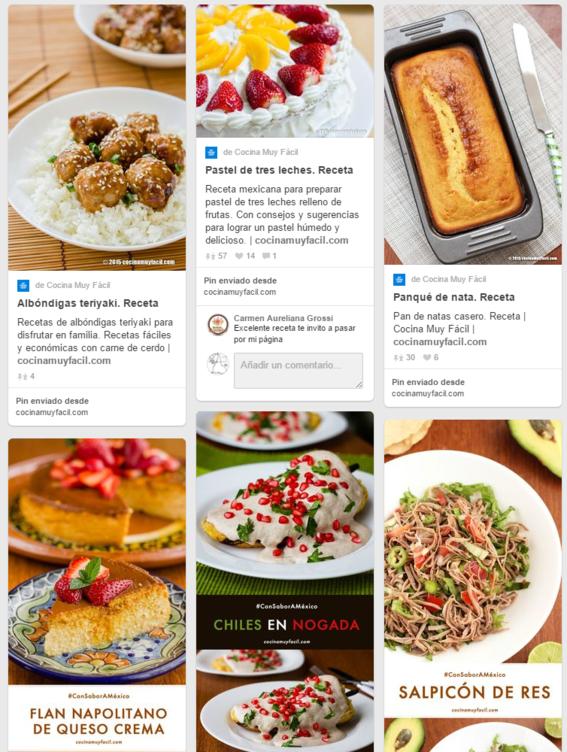 10 cuentas de pinterest en espa ol para aprender a cocinar for Platillos franceses faciles