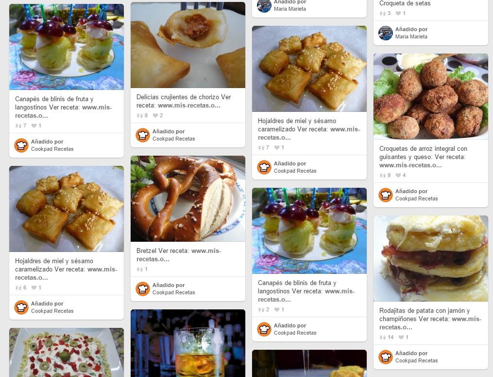 10 cuentas de pinterest en espa ol para aprender a cocinar - Aprender a cocinar ...