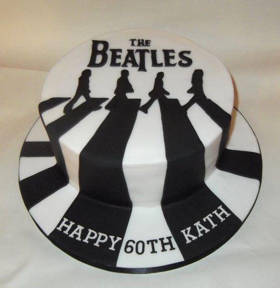 beatles pasteles de música