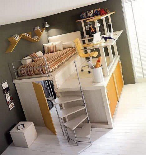 cama departamento pequeno