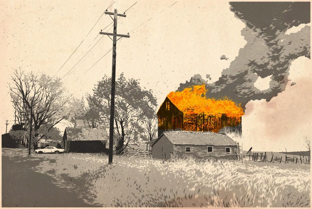 casa quemada mathew woodson