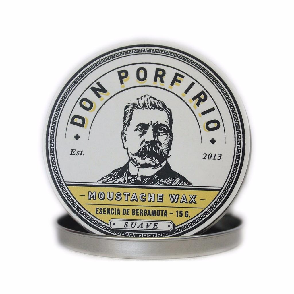 cera para bigote don porfirio hombres con estilo