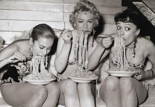 como comer pasta