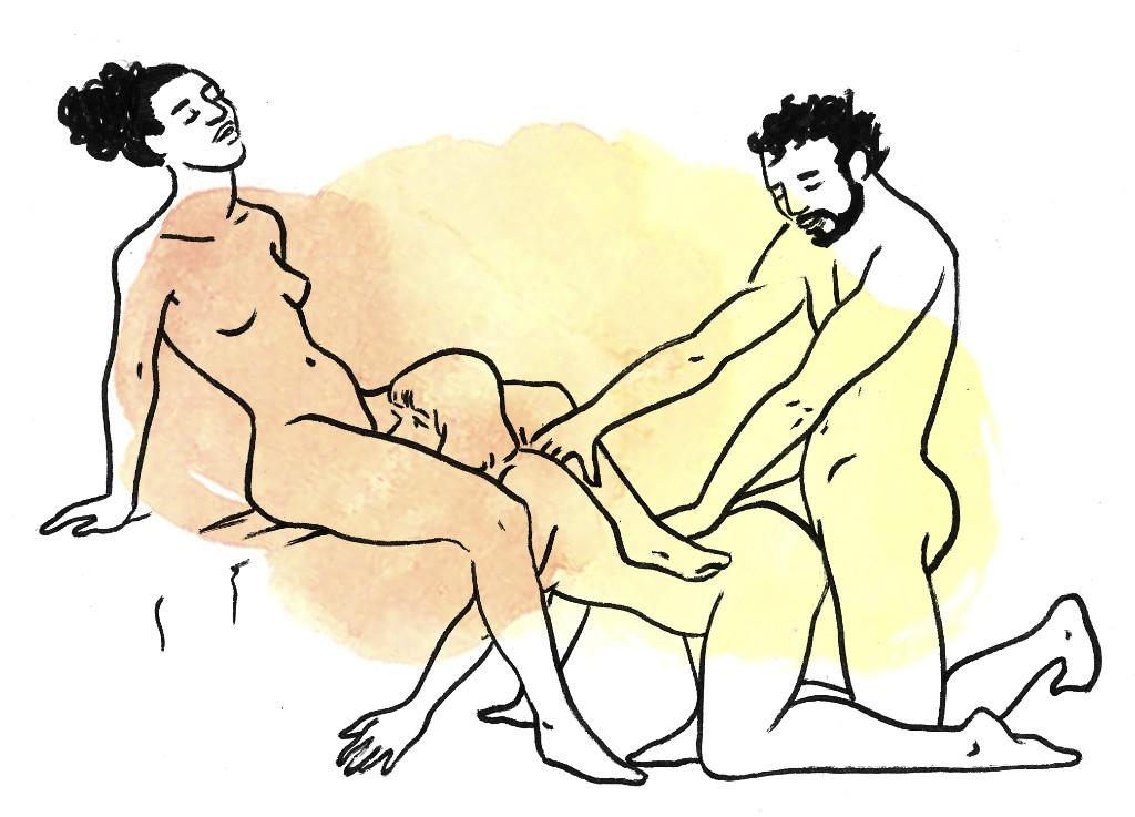 daisy chain posiciones sexuales