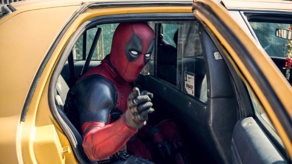 deadpool taxi saludo