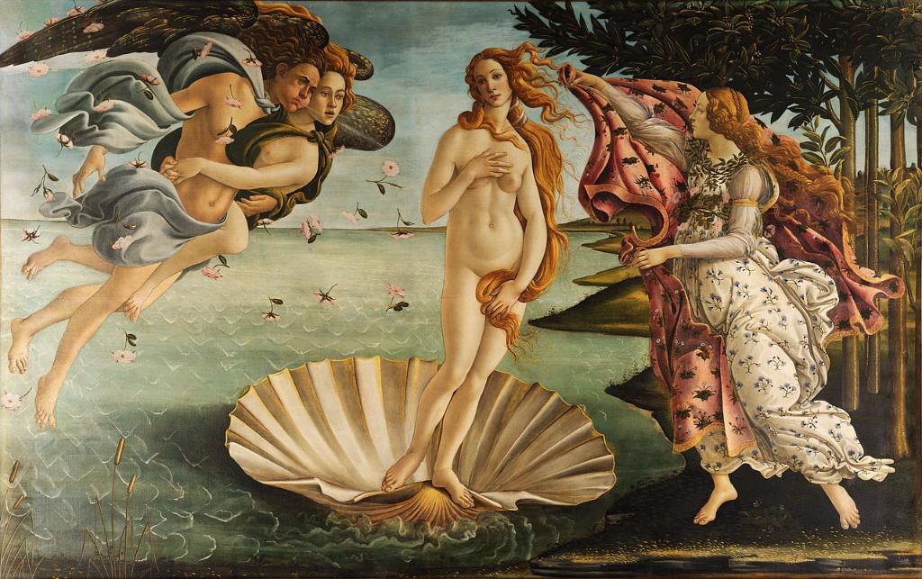diosa Afrodita-pintura