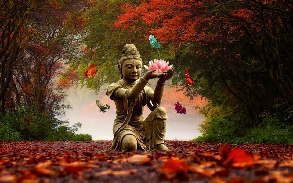 diosas hindúes-lotos