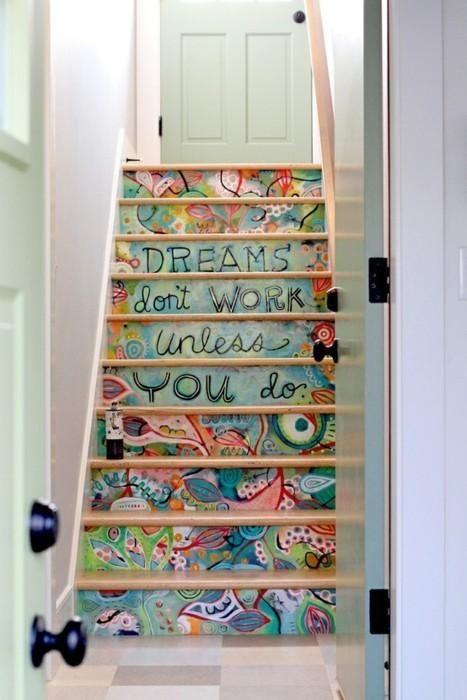 dreams dont work decorar escaleras