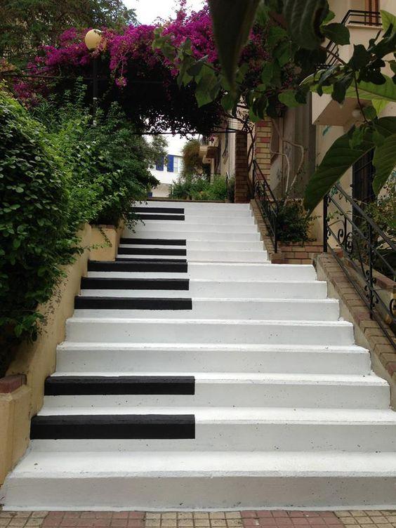 escalera piano decorar escaleras