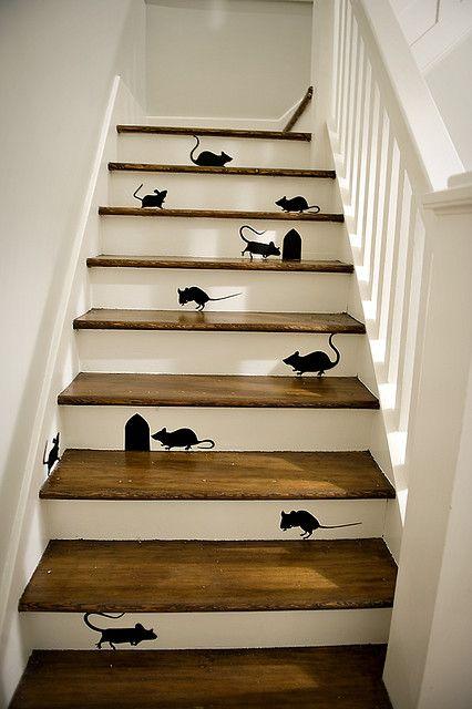 escaleras ratones