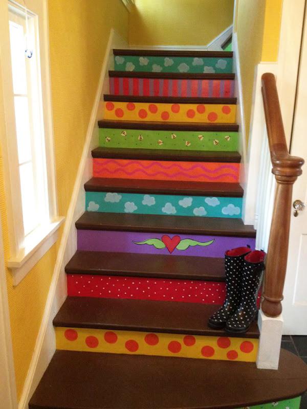 esclaeras infantiles decorar escaleras