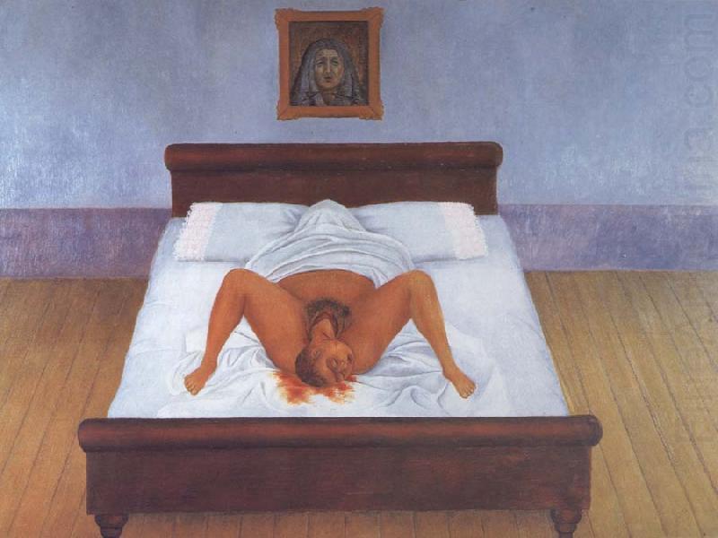 frida kahlo cama