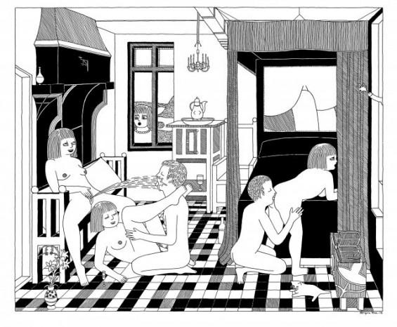 ilustracion sexual