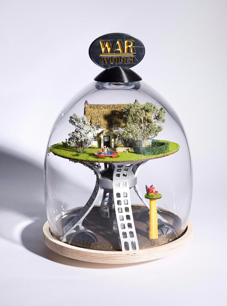 inventos hechos por niños-refugio arbol