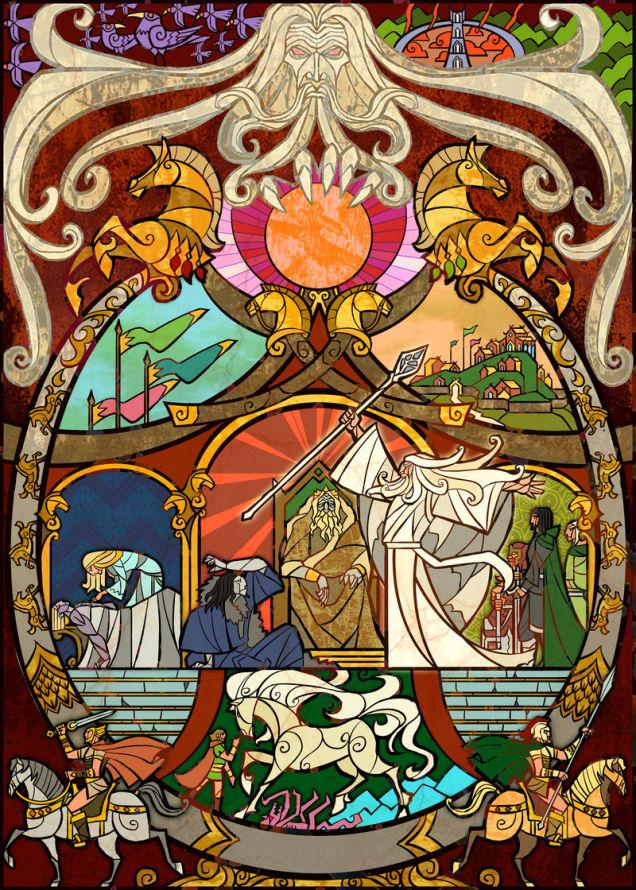 el señor de los anillos  J.R.R. tolkien