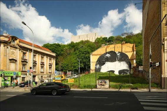 Franz Kafka street art