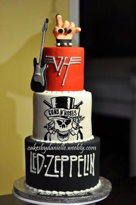 led zeppelin pasteles de música