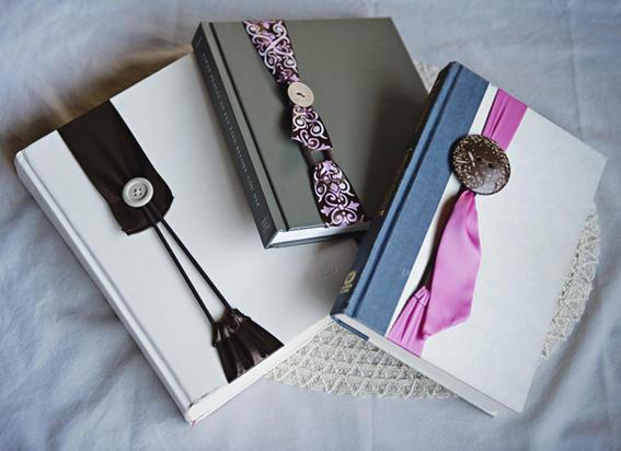 Separadores de libros caseros