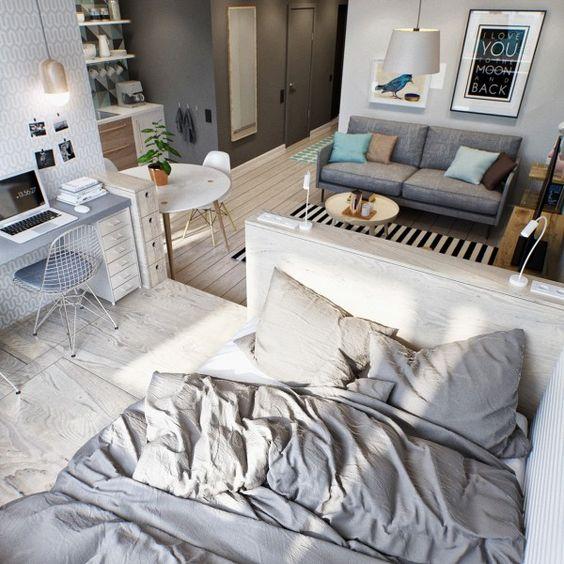 loft departamento pequeno