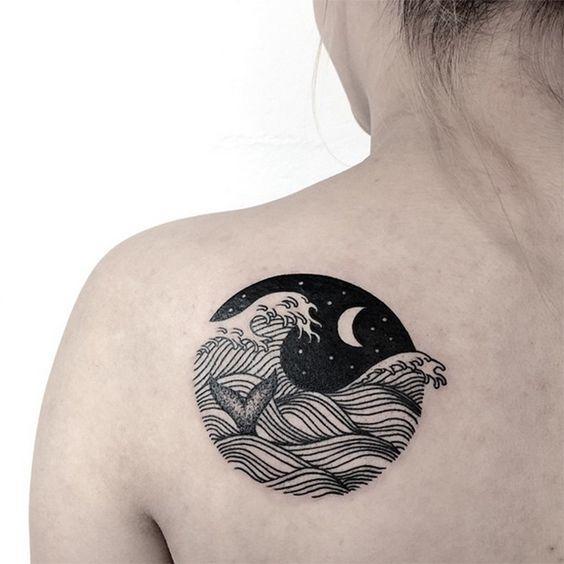 Tatuaje Relacionado Con El Mar Sfb
