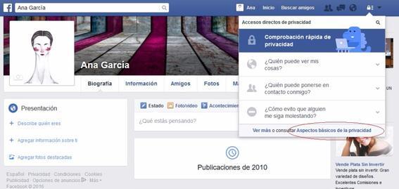 perfil de facebook 22