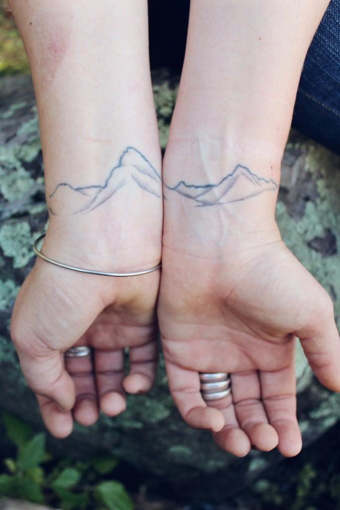 Tatuajes Que Se Complementan Para Crear Un Gran Significado Diseño