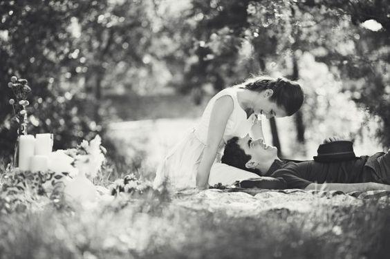pareja picnic