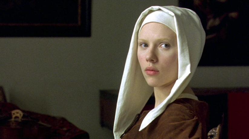 la joven con el arete de perla - películas de Scarlett Johansson