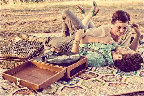 picnic pareja