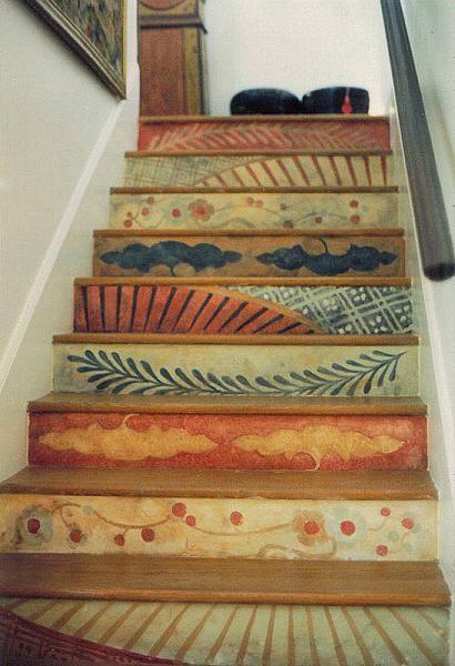 pintura escaleras decorar escaleras