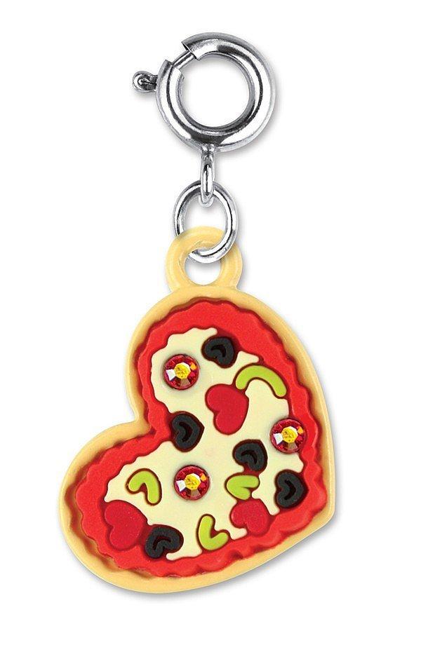 pizza key chain