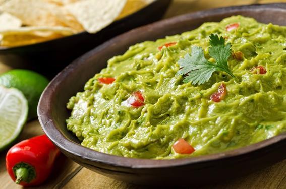 guacamole - platillos mexicanos