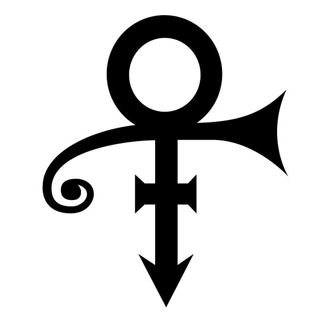 prince logo de bandas