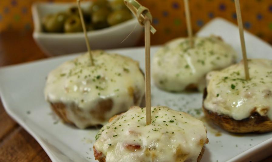 recetas con queso-champiñones2