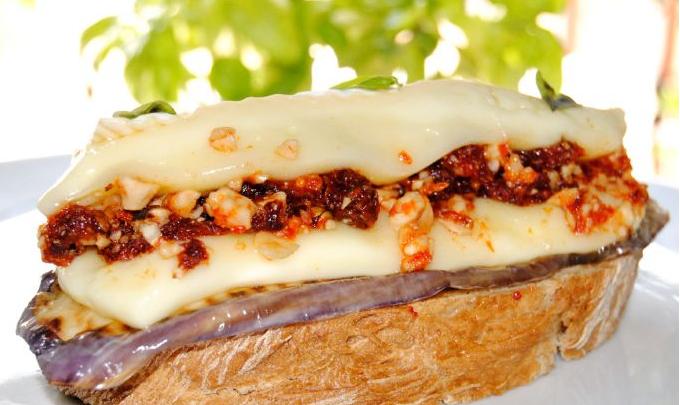 recetas con queso-tostada