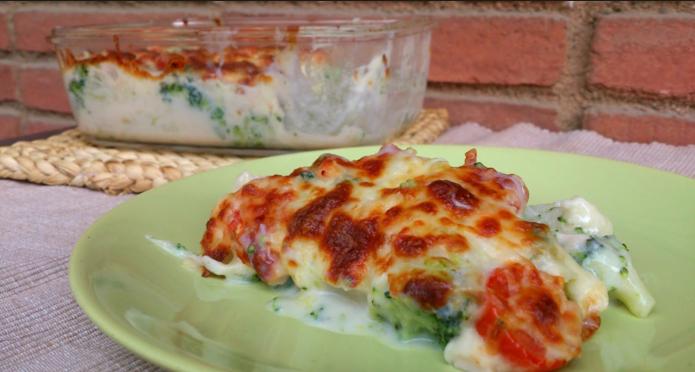 recetas con queso-verdurasbechamel