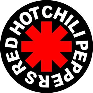 red hot chili peppers logo de bandas