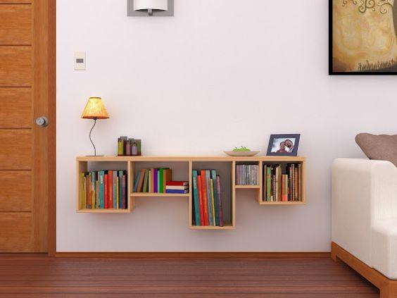 repisa librero departamento pequeno