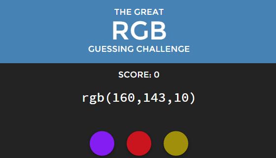 rgb challenge diseñador gráfico
