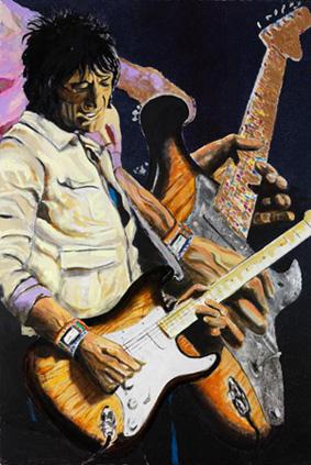 ronnie wood grandes músicos