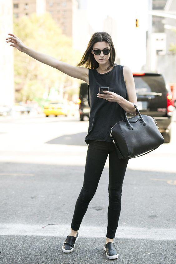 Looks casuales que toda mujer puede usar todos los días - Moda - Moda d5681a027684