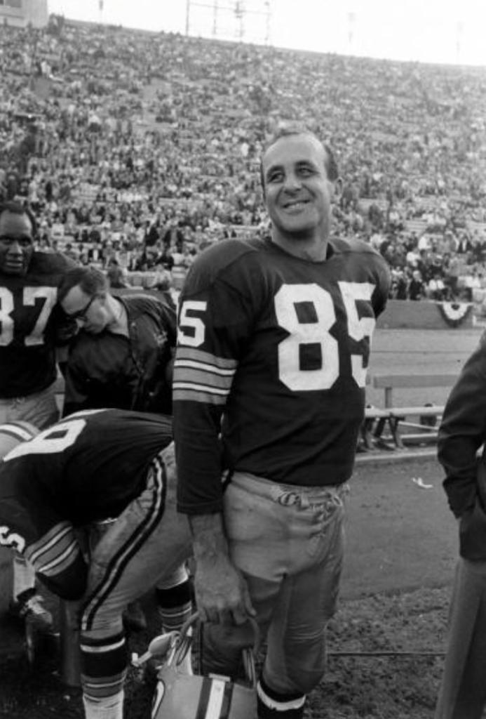 Max McGee, Super Bowl I, 1967.