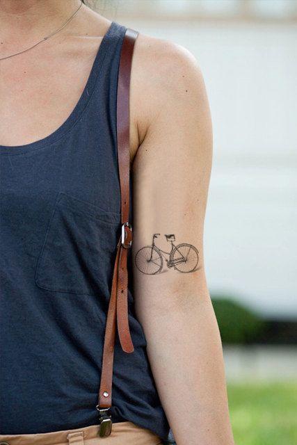 Top 16 tatuajes que sólo los amantes de las bicicletas entenderán - Diseño AK56