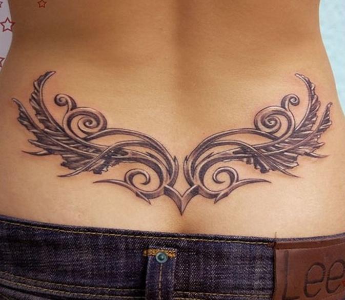 Sensuales Tatuajes En La Espalda Baja Que Nunca Pasarán De Moda