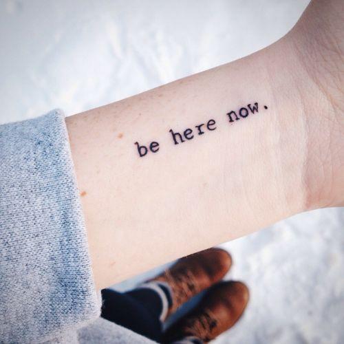 20 Tatuajes Que Te Recordaran Lo Que Es Verdaderamente Importante