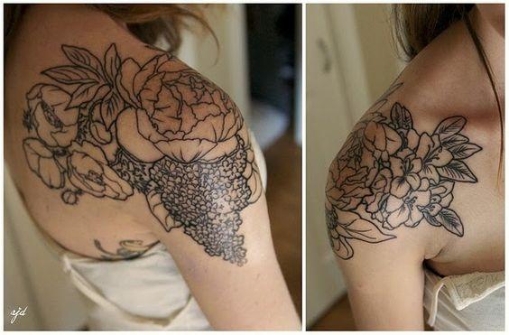 tatuajes sensuales hombro