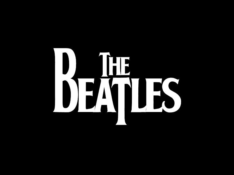 the beatles logos de bandas